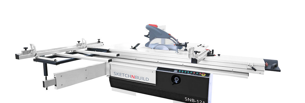 "SALE - SNB-12A 16"" 7.5HP PRECISION SLIDING TABLE PANEL SAW - 3-PHASE"