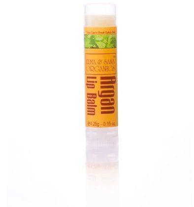 Organic Argan Oil Peppermint Lip Balm, Elma&Sana