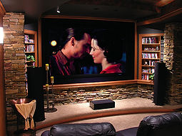 Projectors, Home theater sales, home theater audio,  installations speakers, projectors, audio, Sound waves, sound waves brick