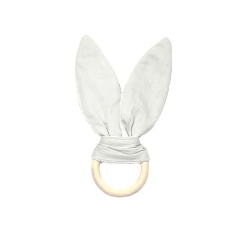 Teether Bunny Icey Grey, Fabelab