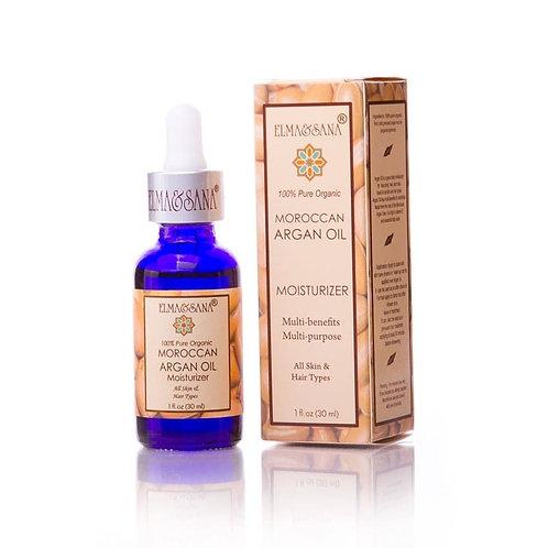 Pure Organic Argan Oil, Elma&Sana