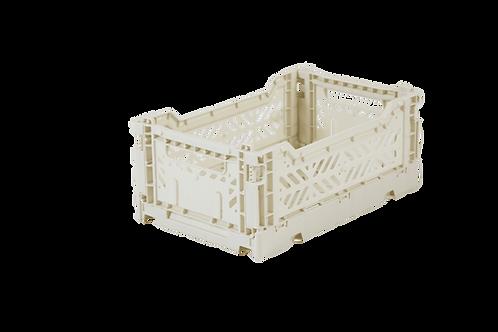 Mini Box Storage Crate - Coconut Milk, Aykasa