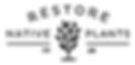 Restore Native Plants Logo