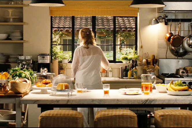 Kitchen from the set of It's Complicated with Meryl Streep and Alec Baldwin.