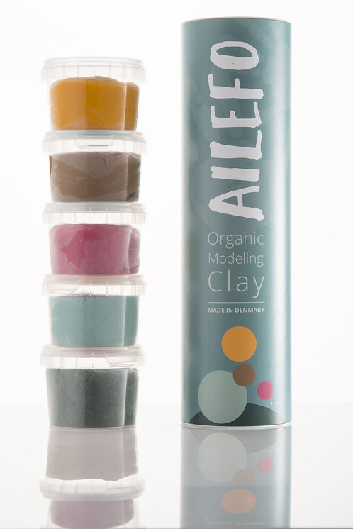 Organic Modeling Clay Small Tube, Ailefo