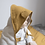 Thumbnail: Organic Hooded Towel Baby Bunny Mauve, Fabelab