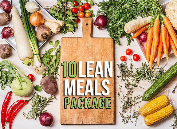 10 Lean Meals Package