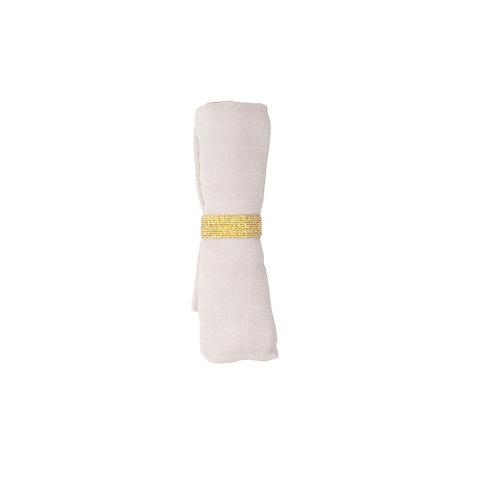 Organic Muslin Cloth Mauve, Fabelab