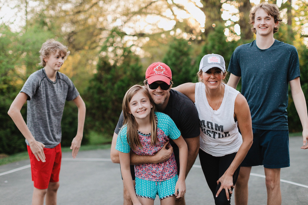 Chris Pronger, Lauren Pronger, Family, Family Vacation, Family Bonding
