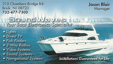 Sound Waves boat marine electronics specialist,Sound waves,sound waves brick, car audio electronics, car audio electronics nj,car audio electronics brick, speakers nj,car radio brick nj,dj equipment brick nj,remote car starters brick,remote car starters nj