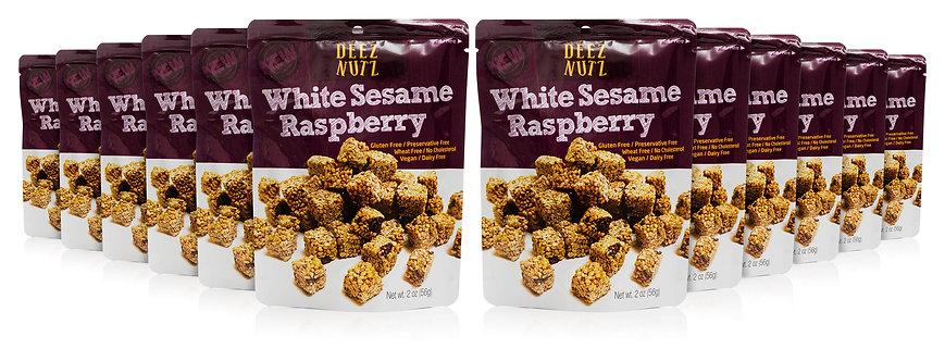 White Sesame Raspberry Case
