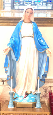The Blessed Mother of Immaculate Conception