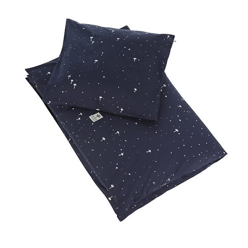 Organic Cotton Junior Bedding Night Sky, Born Copenhagen