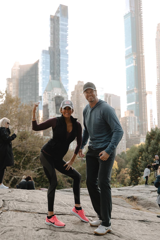 Chris Pronger, Lauren Pronger, New York, NYC, The Dominick Hotel