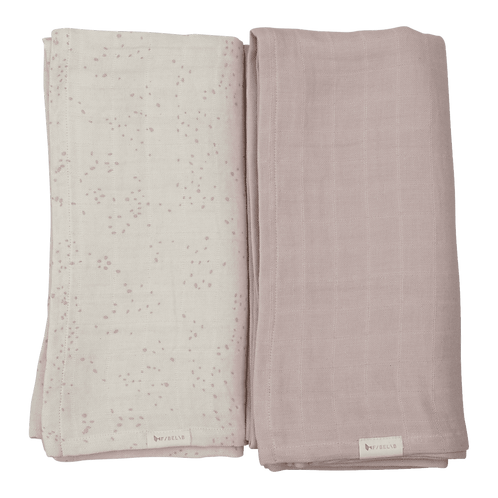 Organic Cotton Swaddle Autumn Mist (2-Pack), Fabelab
