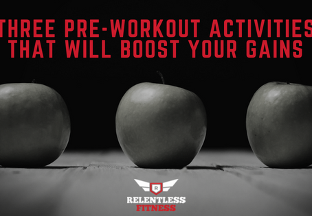 Three Pre-Workout Activities That Will Boost Your Gains
