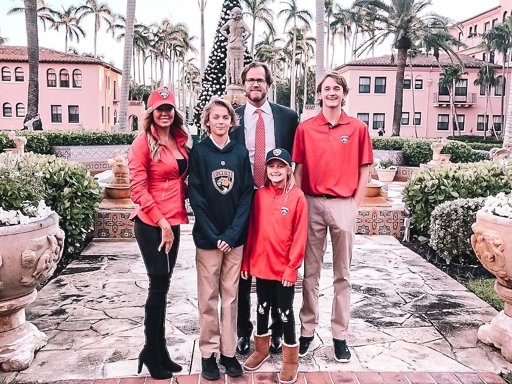 Chris Pronger, Lauren Pronger, Boca Raton Resort & Club, Waldorf Astoria Resort, Boca Raton Resort