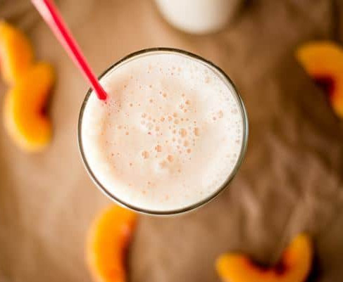 PEACHES & CREAM PROTEIN SHAKE