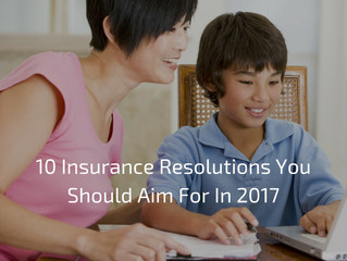 10 Smart Insurance Resolutions for 2017