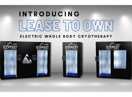 Introducing The NEW CryoBuilt Lease To Own Program