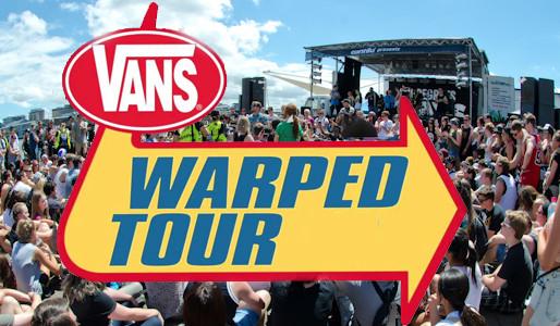 Rocking Healthy Living on Vans Warped Tour