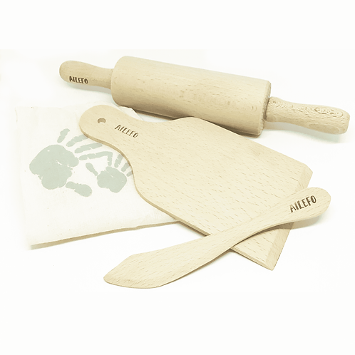 Eco Wood Tools for modeling clay, Ailefo