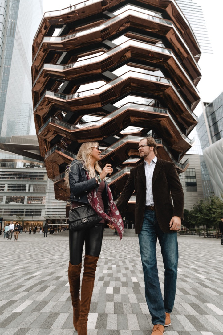 Chris Pronger, Lauren Pronger, New York, NYC, Equinox Hotel