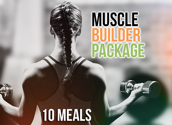 10 Meal Muscle Builder Package