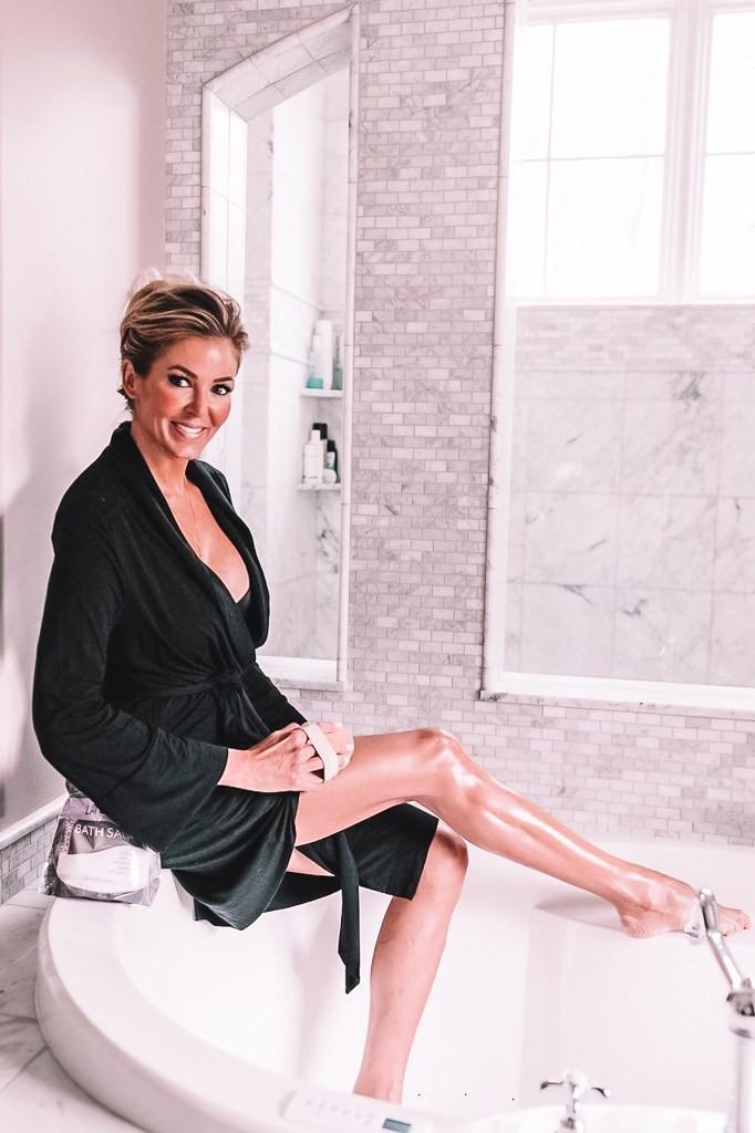 Chris Pronger, Lauren Pronger, Salt Bath, Epsom Salt Bath, Salt Bath Benefits