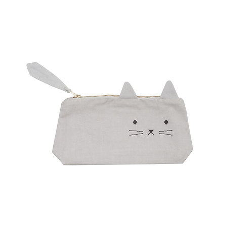 Cuddly Cat Pencil Case, Fabelab