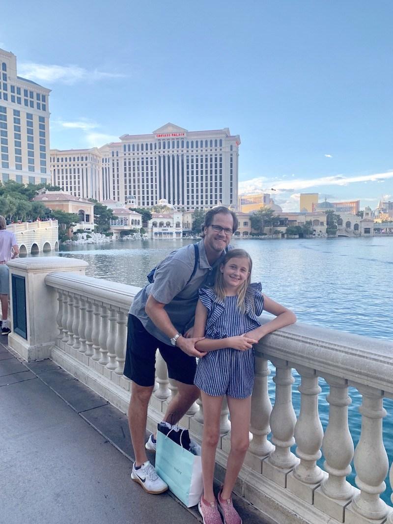 Las Vegas, Nevada, Las Vegas Nevada, Bellagio, Chris Pronger, Lauren Pronger