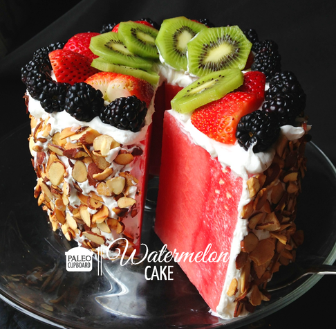 WACKY HEALTHY WATERMELON CAKE