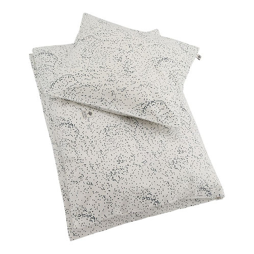 Organic Cotton Junior Bedding Midnight Dust, Born Copenhagen