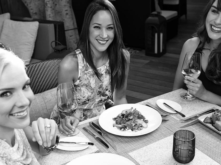 Chris Pronger, Lauren Pronger, Newport Beach, California, Fashion Island Hotel and Spa