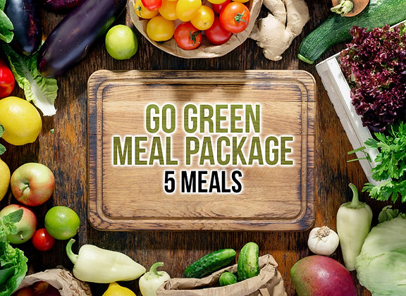 5 Meals Go Green Package
