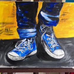 My Shoes _ Acryl on Canvas