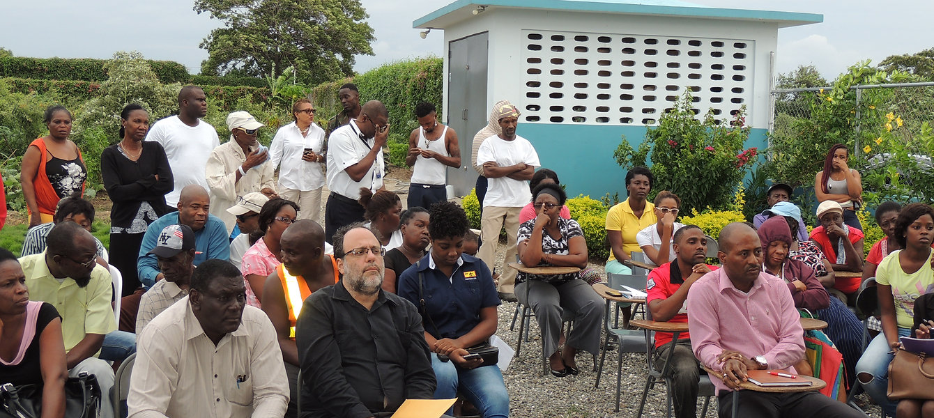 Rose town foundation community meeting