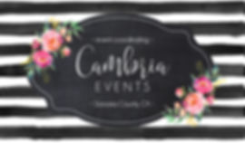 Cambria Events- Event Planning & Wedding Coordination |  California