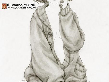 쿠리야마 미라이(스케치 완)
