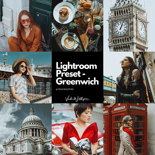 "Lightroom Preset ""Greenwich"""