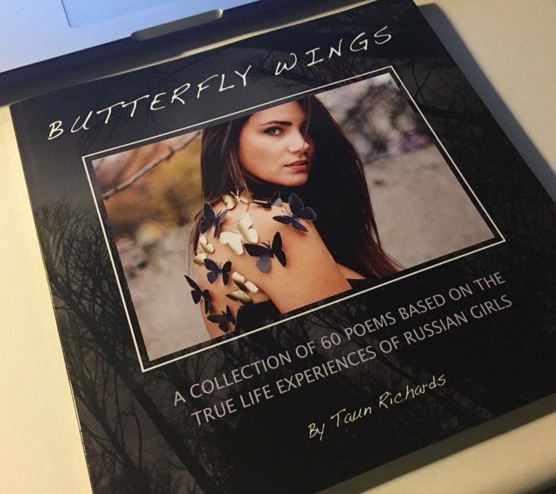 """BOOK """"BATTERFLY WINGS"""""""