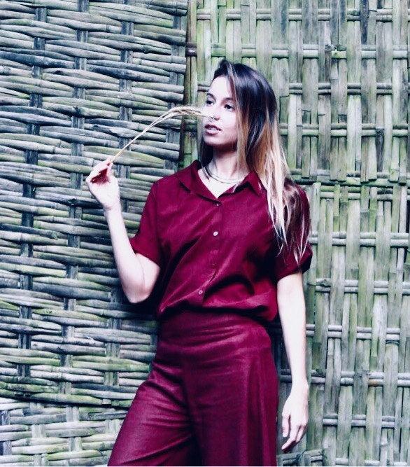 Camisa Uni Rouge