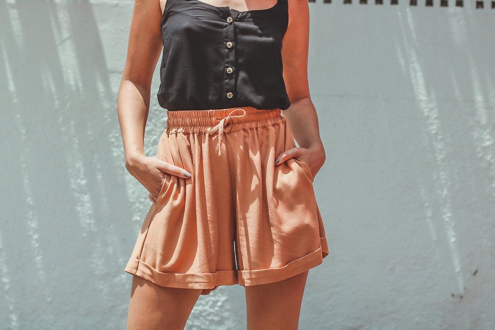 Shorts Suzi Caramelo