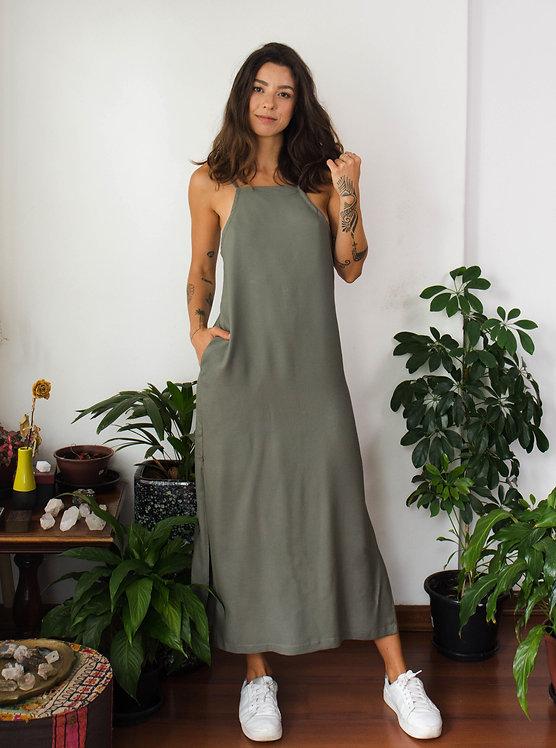 Vestido Carola Musgo