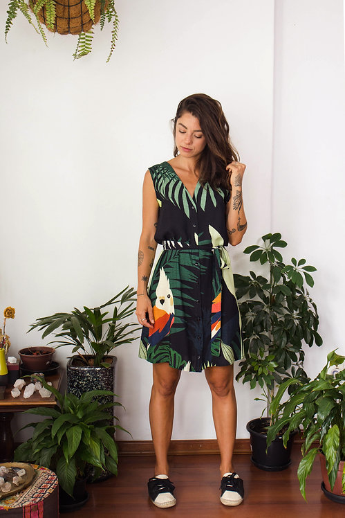 Vestido Haya Tropicália