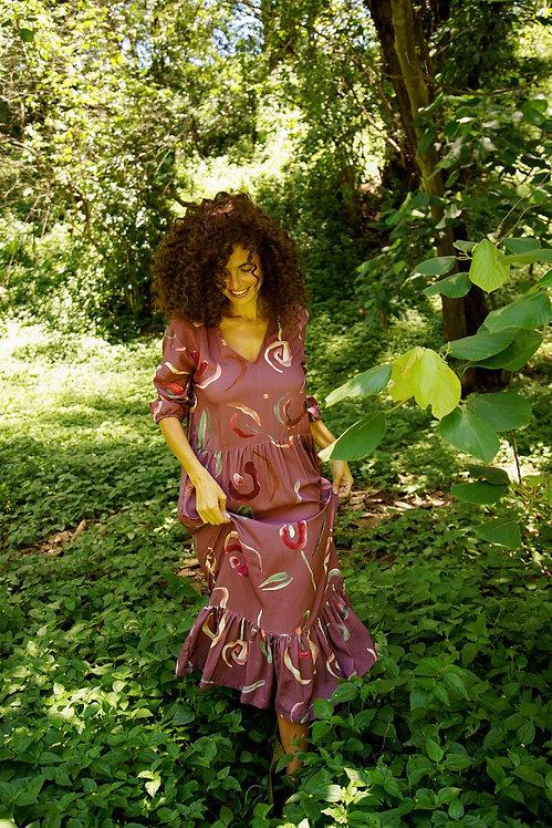 Vestido Lucia Abstrata