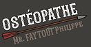 Philippe Faytout logo ostéopathe marcheprime nouvelle-aquitaine