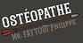 Logo ostéopathe marcheprime 33 Philippe Faytout nouvelle-Aquitaine Bassin d'Arcachon