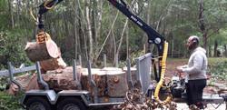 Fendeuse 18 tonnes