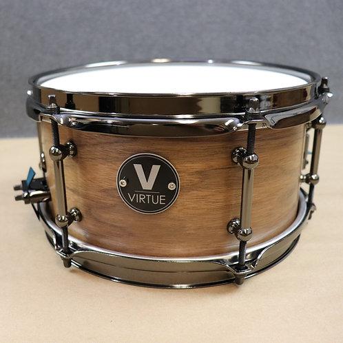 """VIRTUE: Humility™ 10""""x5"""" Walnut-Mahogany Snare Drum"""